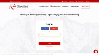 Login to free cPanel and manage free web hosting - 000Webhost