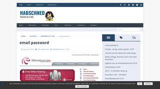 000webhost webmail not working - login error | Habschned