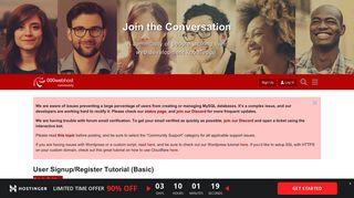User Signup/Register Tutorial (Basic) - Website Building ...