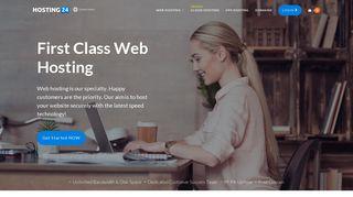 Premium Web Hosting - Shared Hosting, VPS & Domains by Hosting24