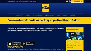 Oxford Taxi App   Uber In Oxford   001 Taxis