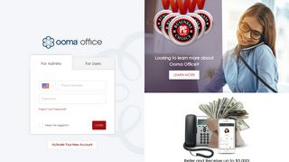 Ooma Office Manager | Customer Login | Manage your Ooma Office ...