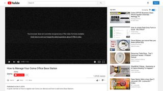 How to Manage Your Ooma Office Base Station - YouTube