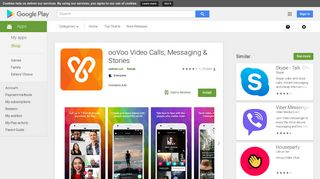 ooVoo Video Calls, Messaging & Stories - Apps on Google Play