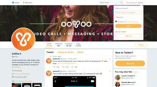 ooVoo (@ooVoo) | Twitter