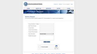 011 Communications, Inc. - Customer Request
