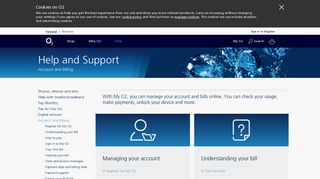 O2   Account and Billing