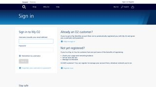 O2   Accounts   Sign in   View bills , balances and emails in your My ...