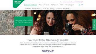 O2 Mobile deals - TalkTalk