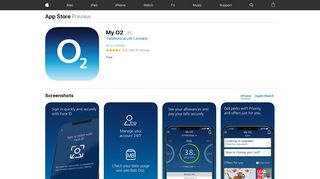 My O2 on the App Store - iTunes - Apple