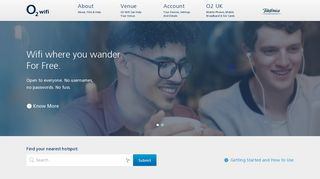O2 Wifi - Fast internet, that's free and safe