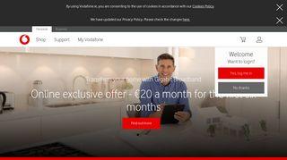 Vodafone: Great deals on latest smartphones, broadband and TV