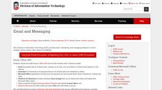 Email and Messaging - NIU - Division of Information Technology