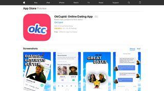 OkCupid: Online Dating App on the App Store - iTunes - Apple