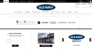 Oldnavy.com | Old Navy - Gap