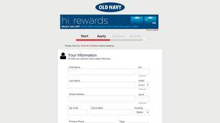 OLDNAVY - Apply for the OLDNAVY Credit Card - Synchrony