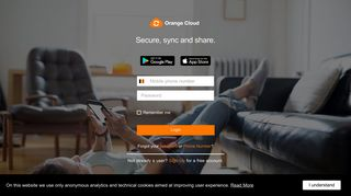 Secure, sync and share. - Orange Cloud