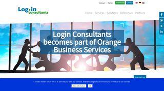Login Consultants becomes part of Orange | Login Consultants