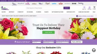 Flowers | Flower Delivery | Fresh Flowers Online | 1-800-Flowers.com