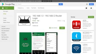 192.168.1.2 - 192.168.l.2 Router Admin Login - Apps on Google Play