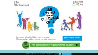 Childcare Choices | 30 Hours Free Childcare, Tax-Free Childcare and ...