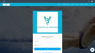 Login to 3V Triathlon Training - Trisutto