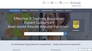 IT Training Courses & Certifications   Corporate Training Solutions ...