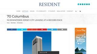 70 Columbus - Resident