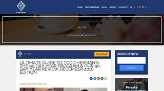 [Updated] Ultimate Guide to Todd Herman's The 90 Day Year Review ...