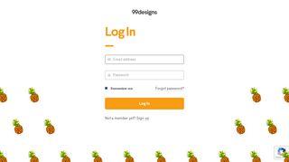Log In | 99designs