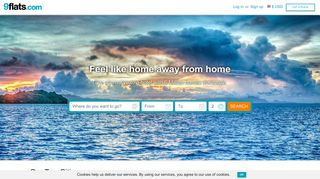 vacation rentals, apartments and accommodations on 9flats.com