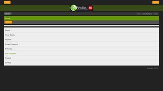 Soccer - 9japredict - Nigeria Sport Betting, Premier League Odds ...