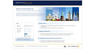 jetairwaysplus.com | Online Information for Travel Agents from Jet ...