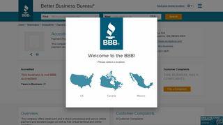 Acceptiva LLC | Better Business Bureau® Profile