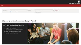 StarRezPortal - Welcome to the Accommodation Portal