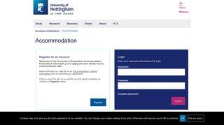 Login - University of Nottingham