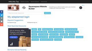 My adaptamed login Search - InfoLinks.Top