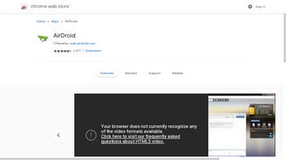 AirDroid - Google Chrome
