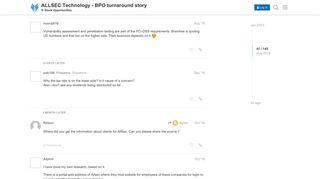 ALLSEC Technology - BPO turnaround story - Stock Opportunities ...