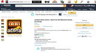 Amazon.com: Jackpot Slots Casino - Best Free Slot Machine Games ...