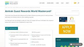 Amtrak Guest Rewards World Mastercard® - Credit Card Insider