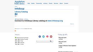 InfoSoup | Appleton Public Library (WI)