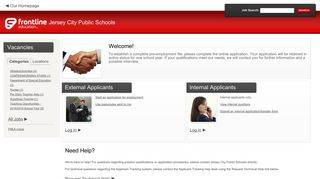 Jersey City Public Schools - Frontline Recruitment - applitrack.com