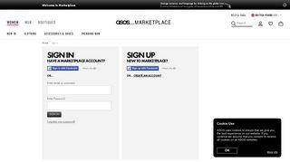 ASOS Marketplace | Log on