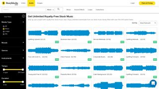 Royalty-Free Stock Music - Storyblocks Audio - Audio Blocks