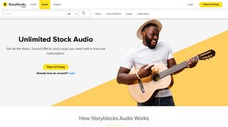 Audioblocks - Royalty-Free Stock Music, Sound Effects, Loops