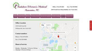 Audubon Womens Medical Associates OBGYN Contact Williamsville NY