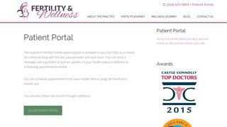 Patient Portal - Fertility & Wellness NOLA