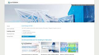 Learning center - Autodesk