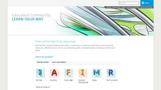 Online Learning Resources   Autodesk Education Community